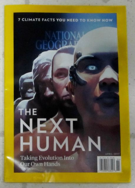 No Label NEXT HUMAN National GEOGRAPHIC April 2017 CLIMATE FACTS Life After Isis